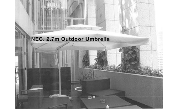 13NEC. 2.7m Outdoor Umbrella