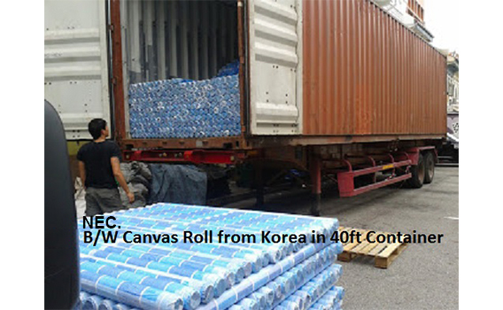 1BW-Korean-canvas-in-40ft-conainer