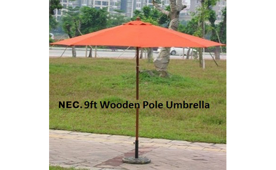 8Orange-single-top-wooden-pole-umbrella