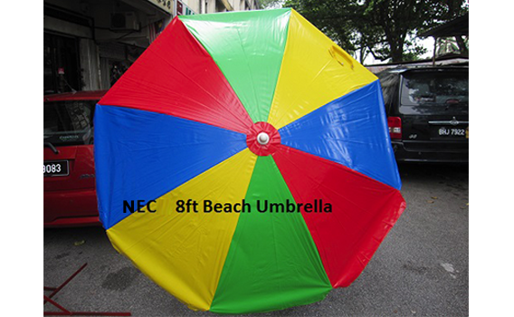 9Mix-colour-beach-umbrella